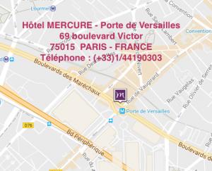 Hotel Mercure - Porte de Versailles PARIS