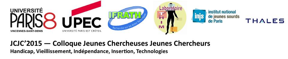 JCJC'2015  --  Colloque Jeunes Chercheuses Jeunes Chercheurs